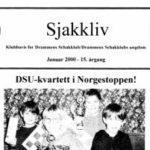 Drammen Sjakkliv nr 1 2000