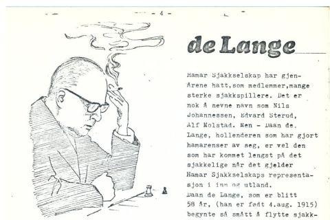 Les om Daan de Lange i Ha-Sj