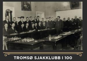 """Jubileumsboken """"Tromsø Sjakklubb i 100"""""""
